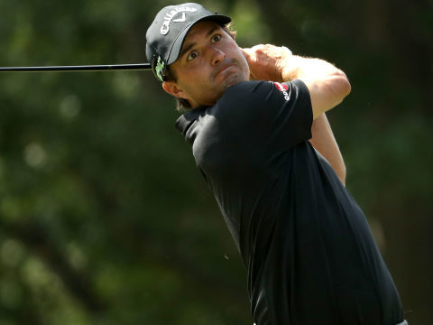 Consistent Kisner leads during third round at Quail Hollow
