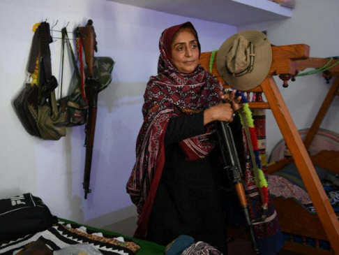 Oscars bid for story of 'Pakistan's toughest woman'