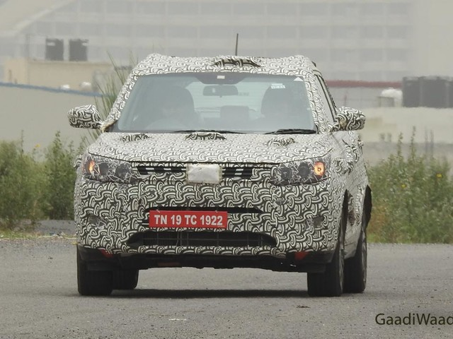 Mahindra XUV300 BS6 Spied On Test In Delhi-NCR