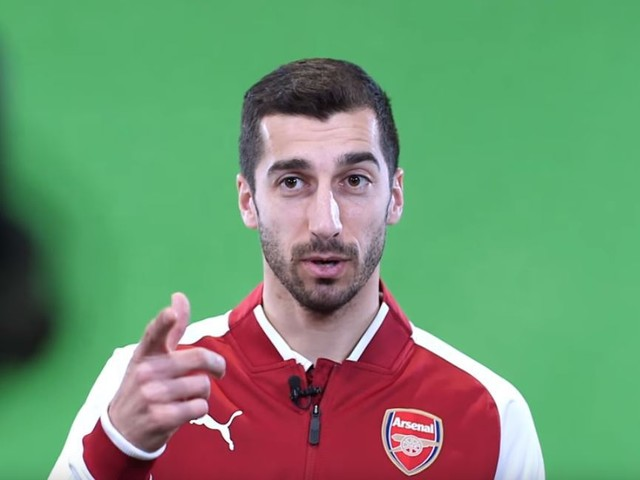 Arsenal fans are convinced Henrikh Mkhitaryan has revealed Pierre-Emerick Aubameyang's transfer is done