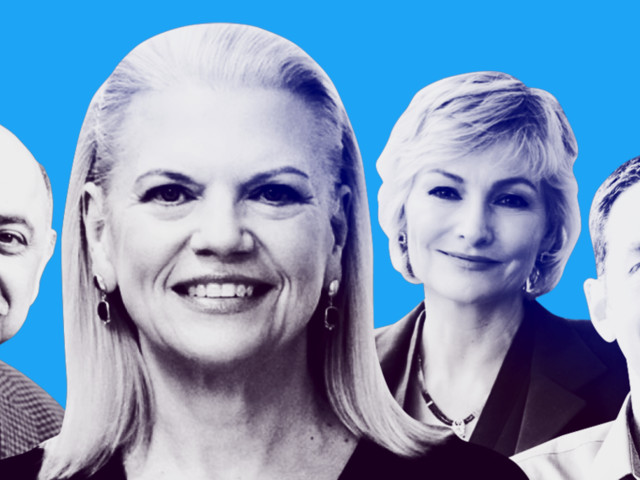 Meet the 14 power players of IBM, playing key roles in CEO Ginni Rometty's bid to dominate the $1 trillion hybrid cloud market — and a few who might take over for her one day (IBM)