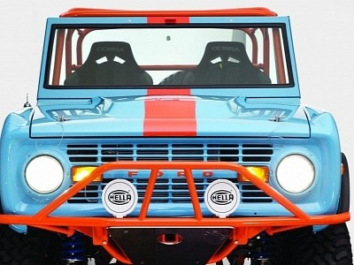 1966 Ford Bronco Heritage By Galpin Auto Sports is Still Cooler Than the New One