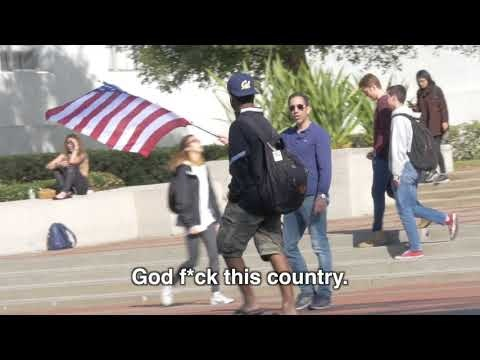 Ami on the Loose: Berkeley Students React to US Flag. Rather amazing.