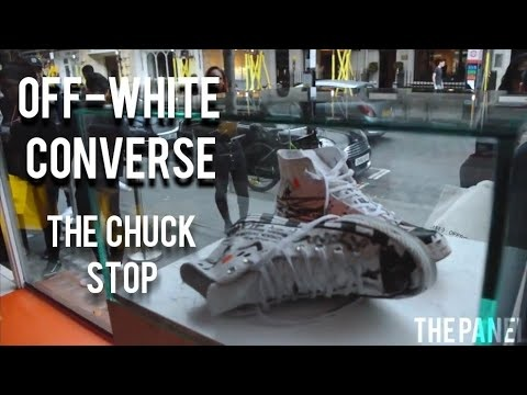 Sneaker Brand Coffee Shops - Converse's 'Chuck Stop' Pop-Up Was the Site of a Limited Sneaker Drop (TrendHunter.com)