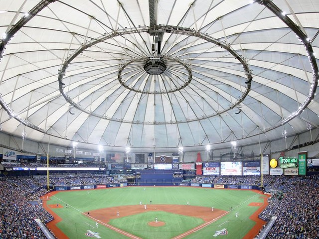 The Rays splitting time between Tampa and Montreal is absurd, but fun to think about