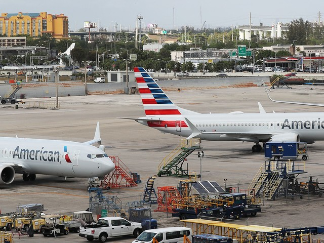 An American Airlines executive reveals why its exposure to the grounding of the Boeing 737 Max has been limited (BA, AAL)