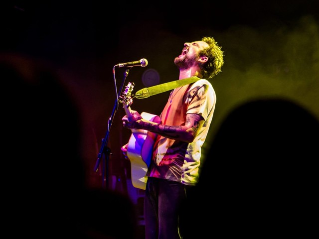 Frank Turner performing charity gig at Colchester Arts Centre