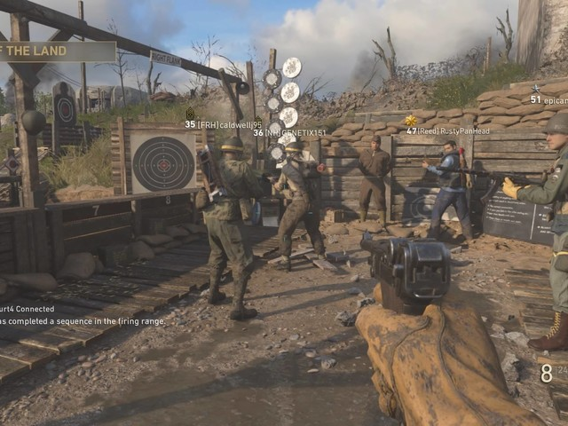 Call of Duty WW2's HQ social space is working again