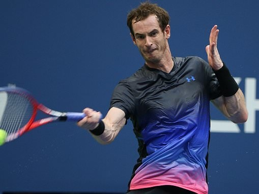 Andy Murray through to Shenzhen Open second round after opponent Zhang Zhizhen retires in final set