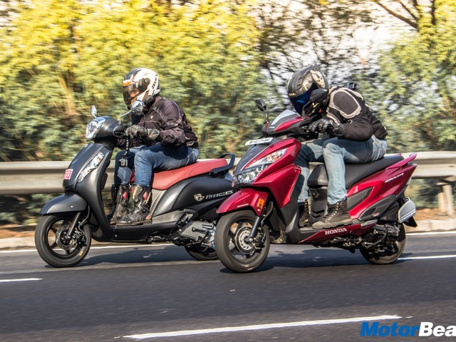 Suzuki Access 125 vs Honda Grazia – Shootout