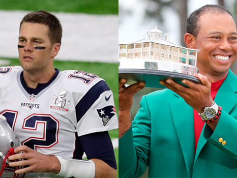 Tom Brady More 'Driven' Than Ever To Win Another Super Bowl After Tiger Woods' Master's Win