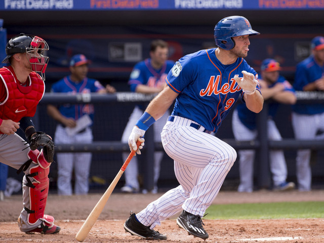 Tebow Wastes Little Time, Homers On First Day With St. Lucie