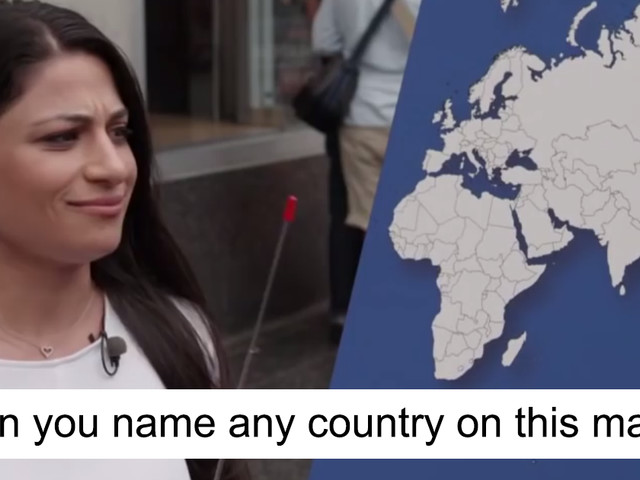 Jimmy Kimmel Asks Americans To Name ANY Country, And Result Is Too Painful To Watch Until Little Boy Steps In