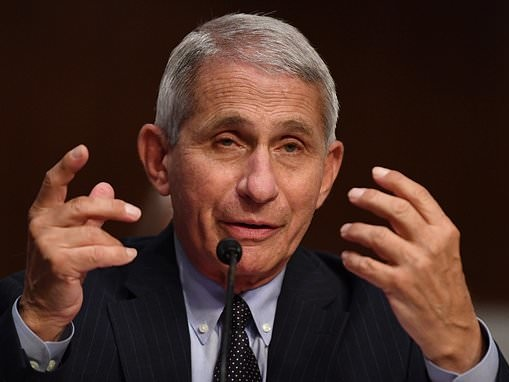 Dr. Fauci predicts America will have new 100,000 coronavirus cases every DAY compared to 40,000 now