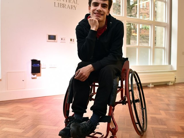 'Being in a wheelchair won't stop me dancing'