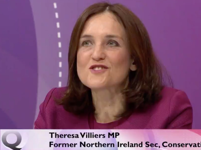 Theresa Villiers On BBC Question Time Prompts Brexit Zinger From David Dimbleby