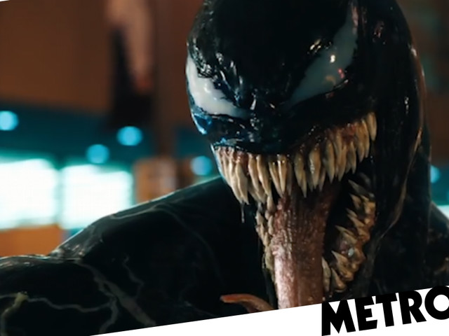 Tom Hardy's Venom finally shows up in the Venom trailer