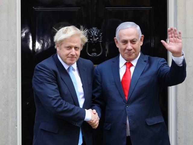 Boris Johnson accuses Israel of 'violation of international law' over West Bank annexation plan