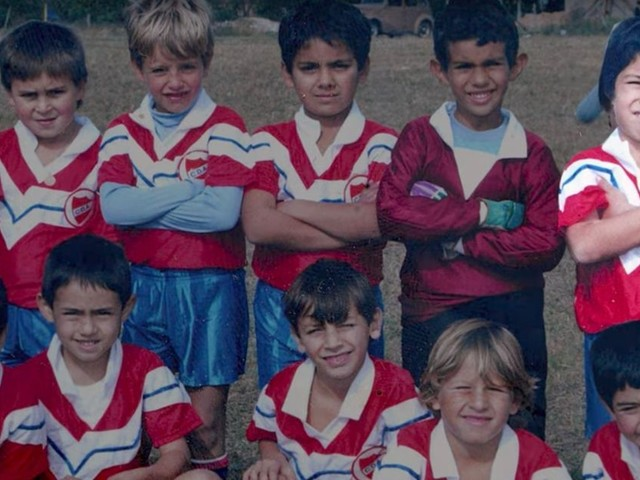 Luis Suarez reveals his childhood football 'idols' and recalls 'difficult' Uruguay pitches