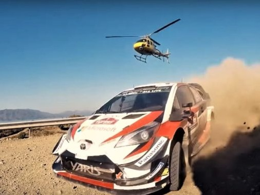 Watch How They Shoot All The Crazy-Looking WRC Helicopter Shots