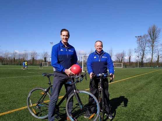 Sports Centre staff take on Peace Ride to Ypres