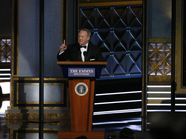 Viewers Slam Emmys For 'Normalising' Sean Spicer After Surprise Appearance