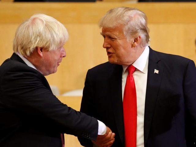 Boris Johnson praises Trump as a 'great global brand' in Fox News interview