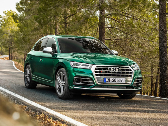Audi's performance SQ5 diesel features electric compressor with mild hybrid system