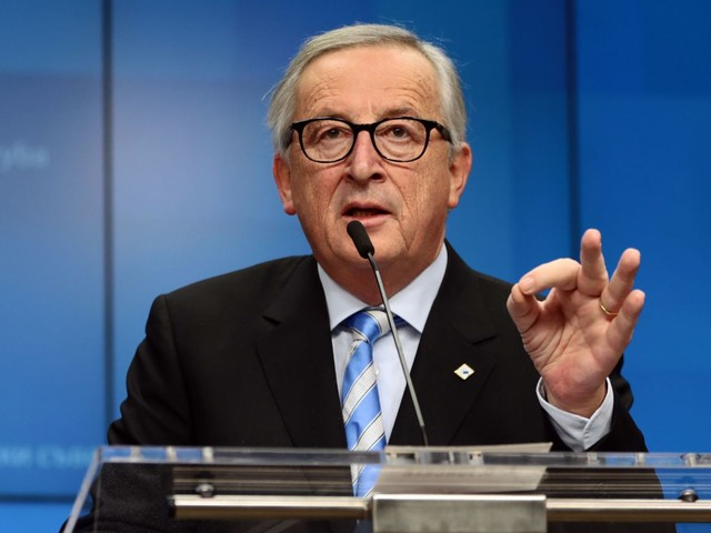 EU denies Juncker will toast Brexit day in Ireland
