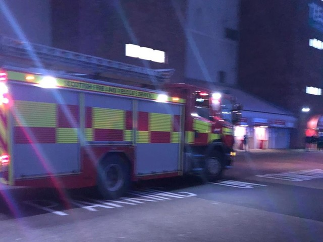 Fire crews stood down after being called to Pittodrie