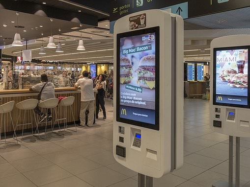 Investigation finds FAECES on every McDonald's touchscreen unit as disinfectant 'not strong enough'