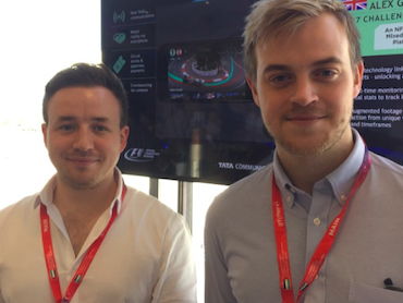 For the fans: British duo win F1 crowdsourcing competition