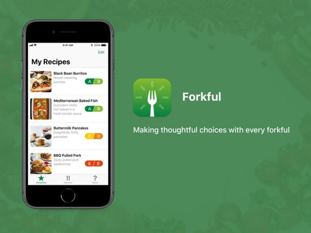 Sustainable Food Discovery Apps - Forkful Helps Users Make Sustainable and Nutritious Food Choices (TrendHunter.com)