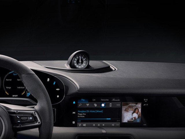 Porsche Taycan EV to Include Integrated Apple Music App