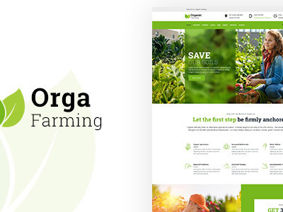 Orga - Food Farming WP Theme (Food)