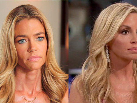 'RHOBH': Denise Richards & Camille Grammer Fight & Throw F-Bombs In Heated Midseason Trailer