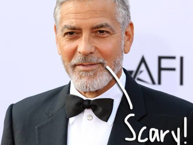 George Clooney Thrown From Scooter In Intense Crash Video — WATCH!