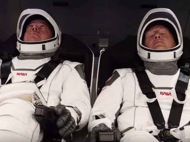 NASA astronaut Bob Behnken said the fiery plunge on SpaceX's Crew Dragon 'felt like we were inside of an animal'