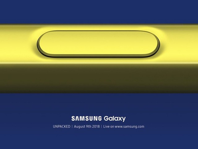 Samsung to Launch New Galaxy Note 9 a Month Before Apple is Expected to Unveil New 2018 iPhones