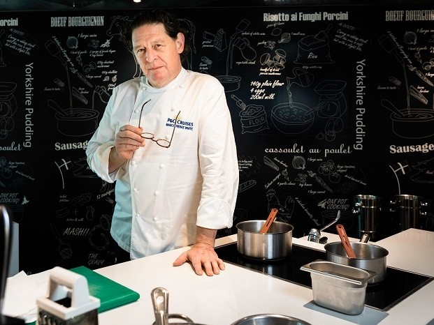 Marco Pierre White takes helm at P&O Cruises Cookery Club