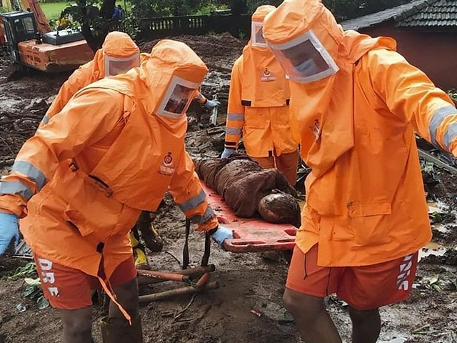 India monsoon death toll climbs to 124 as rescuers search for missing