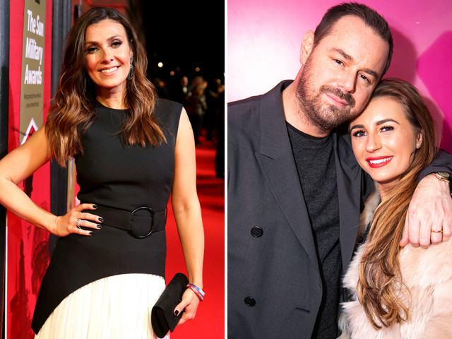 Kym Marsh sends support to Danny Dyer as he prepares to become a granddad at 43, saying 'it definitely has its perks'