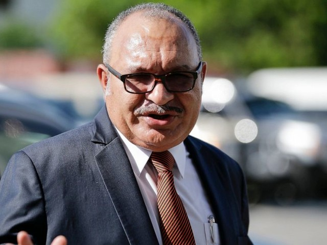 Papua New Guinea prime minister resigns after 7 years