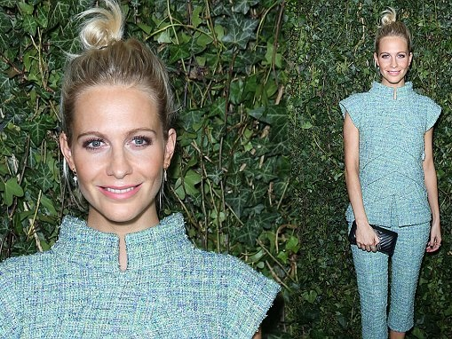 Poppy Delevingne wows at Chanel pre-Bafta party