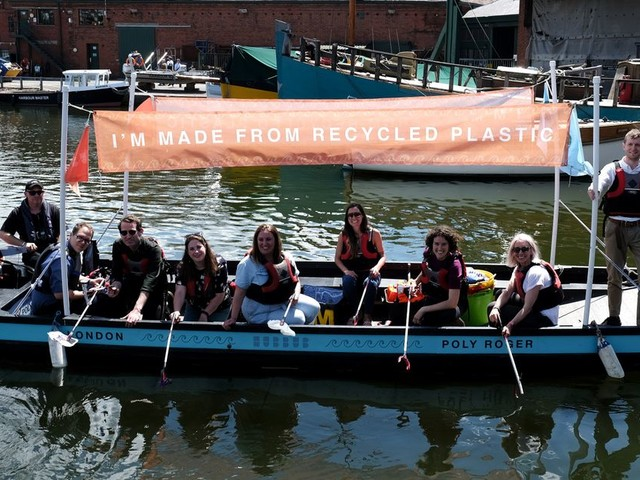 Important reason boat made from recycled plastic is coming to Bristol