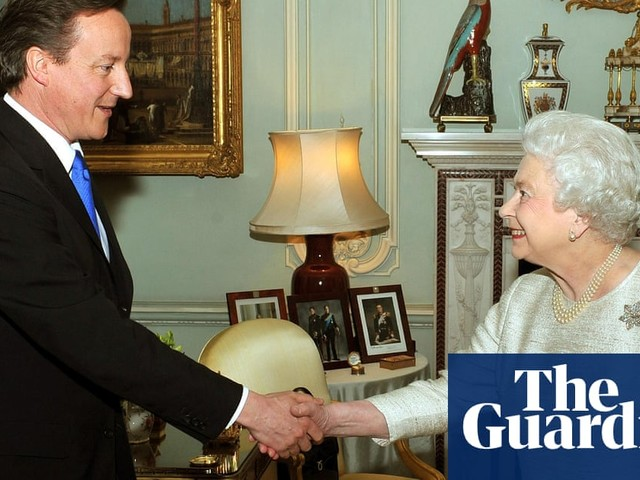 David Cameron: saying Queen 'purred down line' was terrible mistake