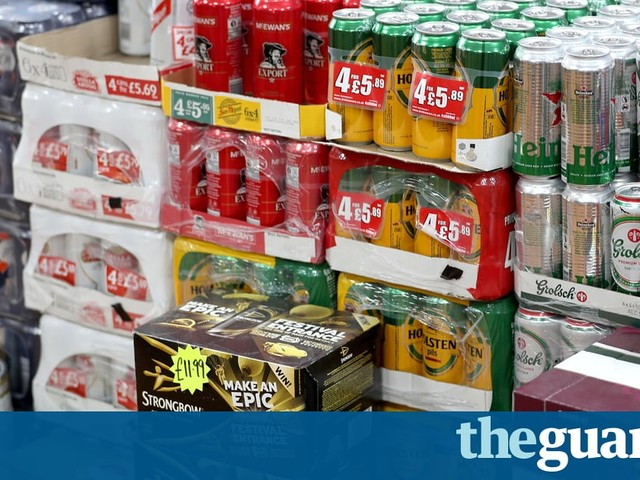 Scotland's minimum pricing for alcohol to take effect in May 2018