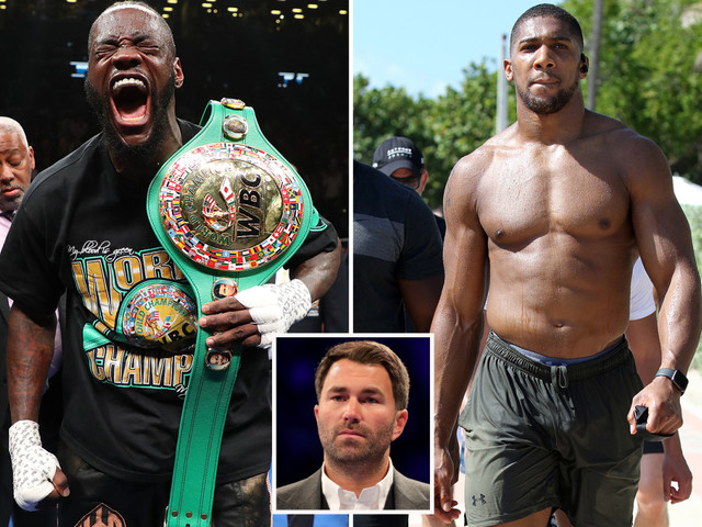 Anthony Joshua 'must' fight Wilder next according to promoter Hearn as Fury trainer admits Gypsy King is chasing bout with both