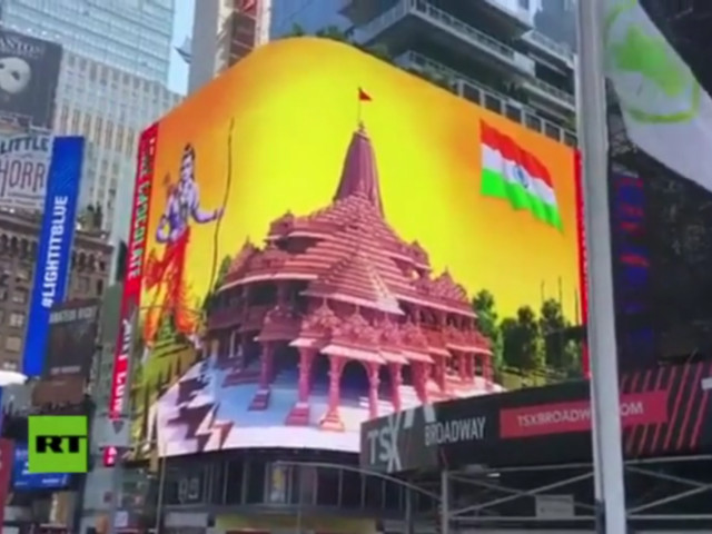 Twitter under fire for 'censoring' Hindu temple video from New York after pressure from Islamic groups