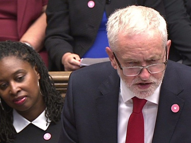PMQs: Corbyn and May on McDonald's workers and pay rates